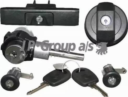 JP Group 1187501410 - Lock Set, locking system detali.lv