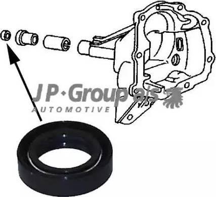 JP Group 1132102200 - Shaft Seal, manual transmission detali.lv