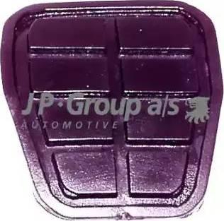 JP Group 1172200100 - Brake Pedal Pad detali.lv