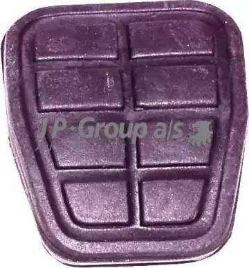 JP Group 1172200300 - Brake Pedal Pad detali.lv