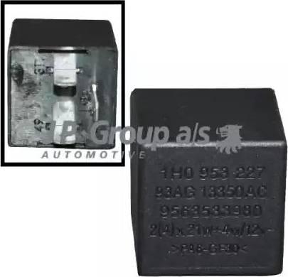 JP Group 8199200400 - Hazard Lights Relay detali.lv