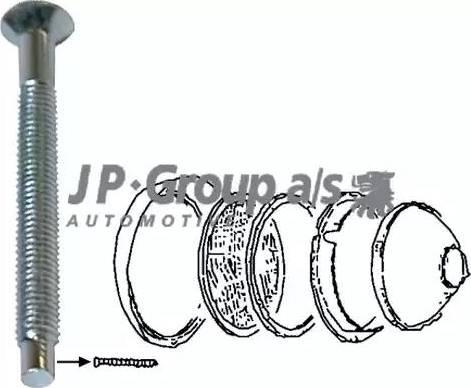 JP Group 8195151606 - Frame, headlight detali.lv
