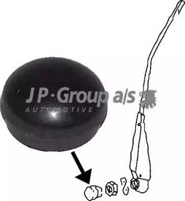 JP Group 8198350100 - Cap, wiper arm detali.lv