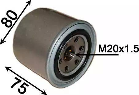 JS Asakashi HC0013 - Hydraulic Filter, automatic transmission detali.lv