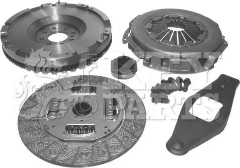 Key Parts KCF1001 - Conversion Set, clutch detali.lv