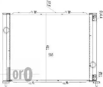 Loro 0420170065B - Cooler Module detali.lv