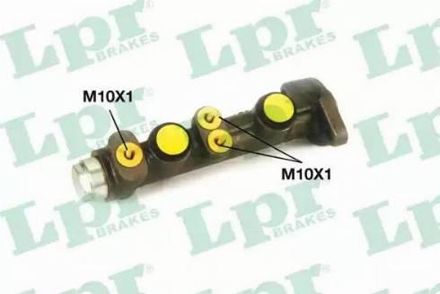 LPR 6757 - Brake Master Cylinder detali.lv