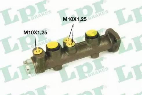 LPR 6706 - Brake Master Cylinder detali.lv