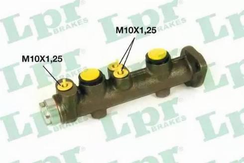 LPR 6707 - Brake Master Cylinder detali.lv