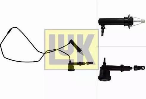 LUK 513006610 - Master / Slave Cylinder Kit, clutch detali.lv