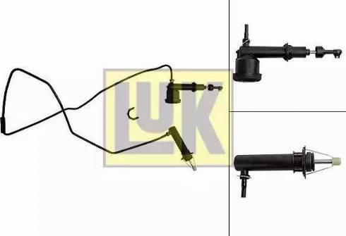LUK 513003010 - Master / Slave Cylinder Kit, clutch detali.lv