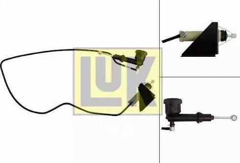 LUK 513002710 - Master / Slave Cylinder Kit, clutch detali.lv