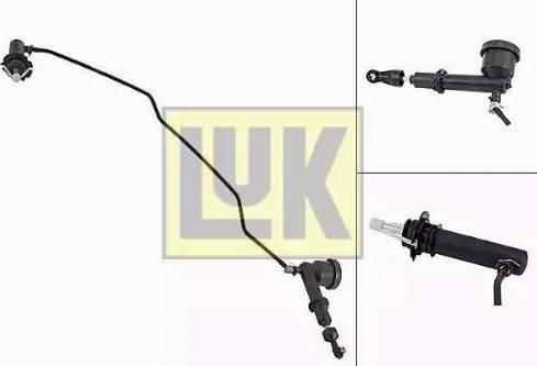 LUK 513007710 - Master / Slave Cylinder Kit, clutch detali.lv