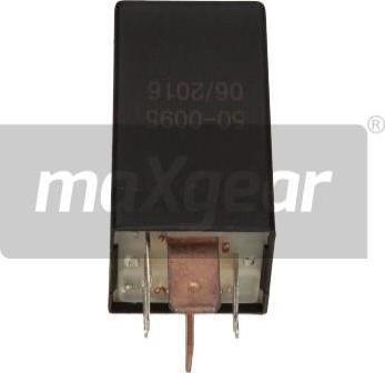 Maxgear 500095 - Control Unit, glow plug system detali.lv