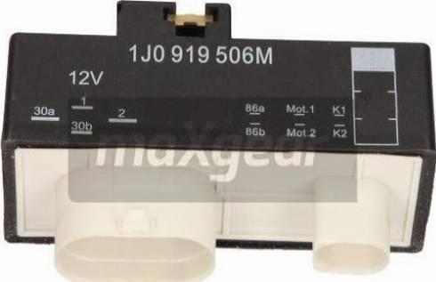 Maxgear 500068 - Control Unit, electric fan (engine cooling) detali.lv