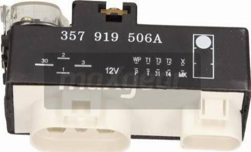 Maxgear 500070 - Control Unit, electric fan (engine cooling) detali.lv