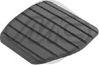 Metalcaucho 06887 - Brake Pedal Pad detali.lv