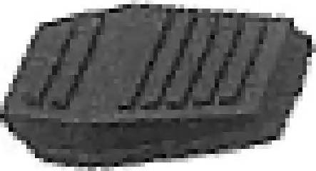 Metalcaucho 00418 - Brake Pedal Pad detali.lv