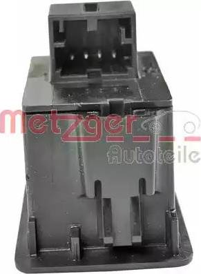 Metzger 0916286 - Switch, tailgate detali.lv