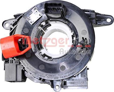 Metzger 0916724 - Clockspring, airbag detali.lv