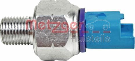 Metzger 0910101 - Oil Pressure Switch, power steering detali.lv