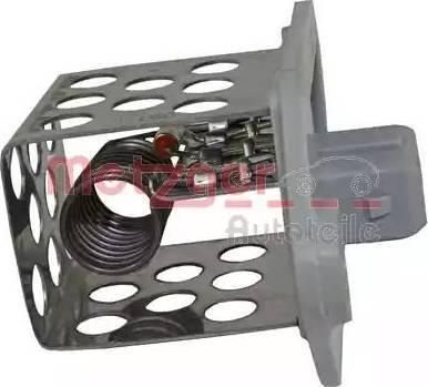 Metzger 0917051 - Control Unit, electric fan (engine cooling) detali.lv