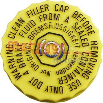 Metzger 2140239 - Sealing Cap, brake fluid reservoir detali.lv