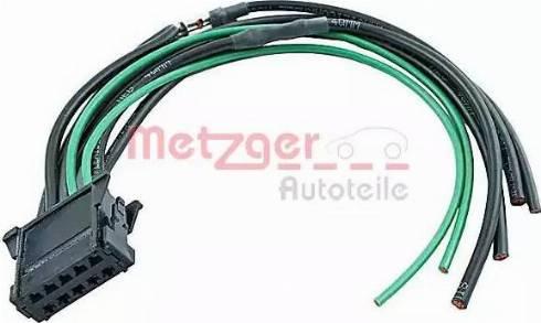 Metzger 2322014 - Cable Repair Set, interior heating fan, (eng. preheat sys.) detali.lv