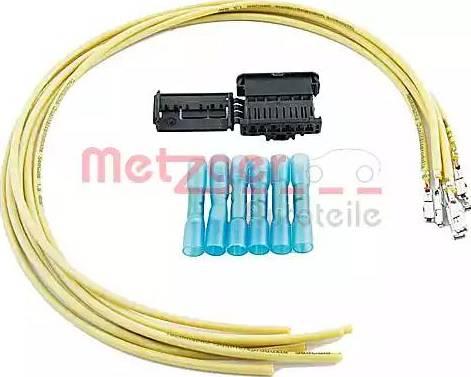 Metzger 2322015 - Cable Repair Set, interior heating fan, (eng. preheat sys.) detali.lv