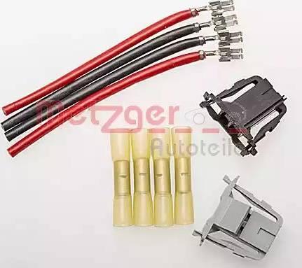 Metzger 2322021 - Cable Repair Set, interior heating fan, (eng. preheat sys.) detali.lv
