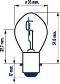 Narva 49531 - Bulb, spotlight detali.lv