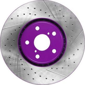NiBK RN1498DSET - High Performance Brake Disc detali.lv