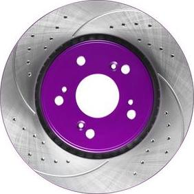 NiBK RN1243DSET - High Performance Brake Disc detali.lv