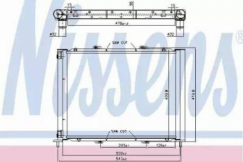 Nissens 637626 - Cooler Module detali.lv