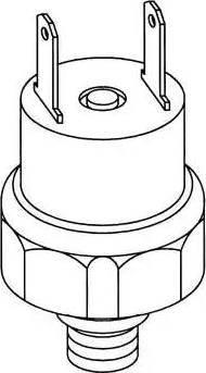 NRF 38914 - Pressure Switch, air conditioning detali.lv