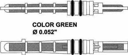 NRF 38353 - Expansion Valve, air conditioning detali.lv