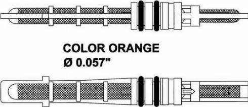 NRF 38209 - Expansion Valve, air conditioning detali.lv