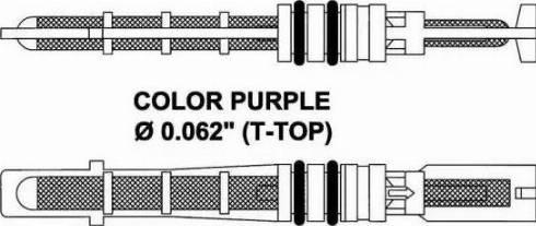 NRF 38206 - Expansion Valve, air conditioning detali.lv