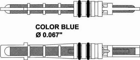 NRF 38207 - Expansion Valve, air conditioning detali.lv