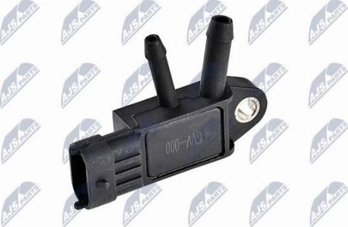 NTY ECSVV000 - Sensor, exhaust pressure detali.lv