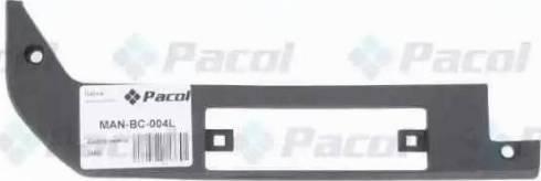Pacol MANBC004L - Bumper Cover, towing device detali.lv