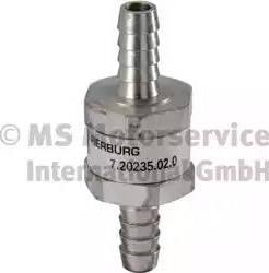 Pierburg 720235020 - Valve, fuel pump detali.lv