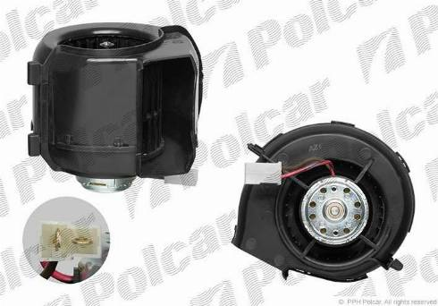 Polcar 9532NU1 - Interior Blower detali.lv