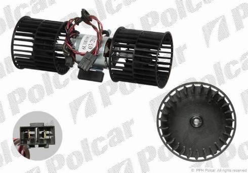 Polcar 6910NU1 - Interior Blower detali.lv