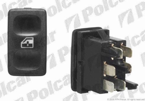 Polcar 6713P70 - Switch, window regulator detali.lv