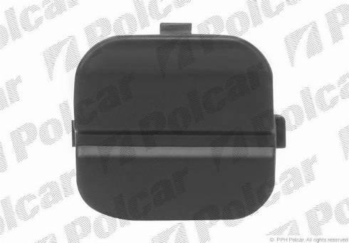 Polcar 3205968 - Bumper Cover, towing device detali.lv