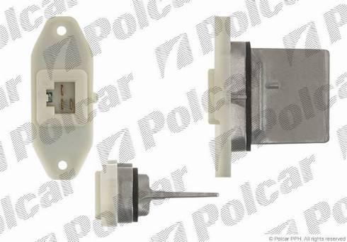 Polcar 2761KST1 - Control Element, heating/ventilation detali.lv