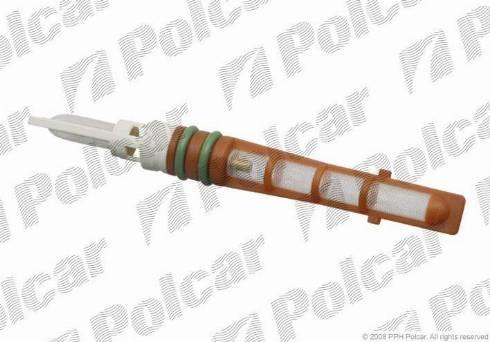 Polcar KDD007 - Expansion Valve, air conditioning detali.lv