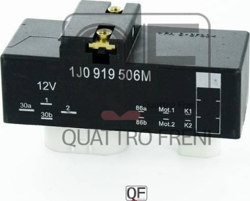 Quattro Freni QF25A00062 - Control Unit, electric fan (engine cooling) detali.lv