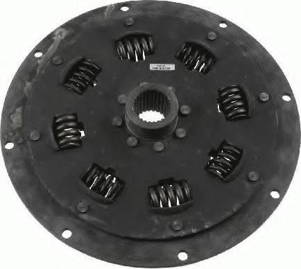 SACHS 1866600009 - Torsion Damper, clutch detali.lv
